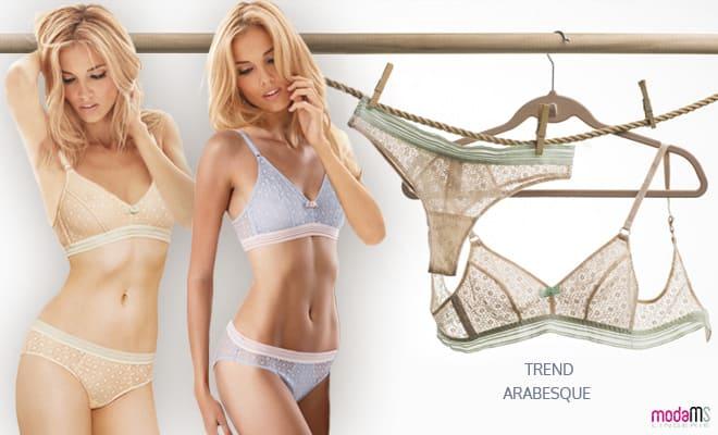 CONTE Lingerie. Delicate lingerie ARABESQUE