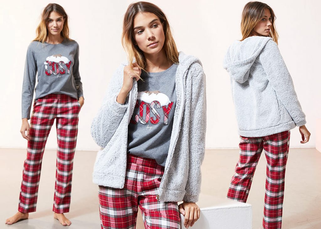 Etam Three Piece Pajama Sets